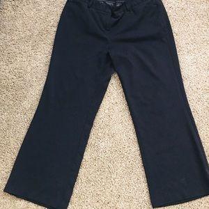 Lane Bryant Navy Dress Pants